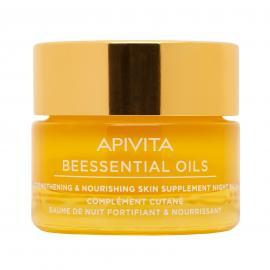 APIVITA Beessentials Oils Olio Giorno Rinforzante e Idratante Trattamento Supplementare per la pelle