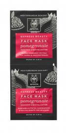 APIVITA EXPRESS BEAUTY Face Mask Pomegranate