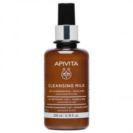 APIVITA Face Cleansing Latte Detergente 3in1 – Viso & Occhi