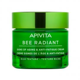 APIVITA Bee Radiant Crema Segni dell`età e Anti-Fatica - Texture Ricca