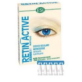 Esi Retin Active Gocce Oculari Monodose 10 Flaconcini