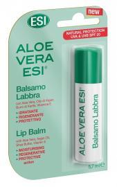 ESI Aloe Vera Protezione 20 Balsamo Idratante Labbra 1 Stick 5,7 ml