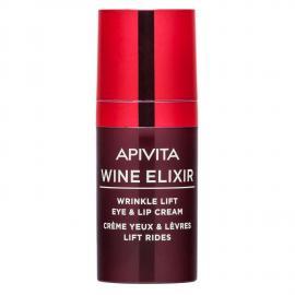 APIVITA Wine ElixirCrema Liftante Rughe Occhi & Labbra