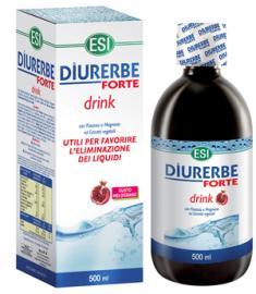 Esi Diurerbe Forte Drink Melograno Integratore Drenante 500 ml