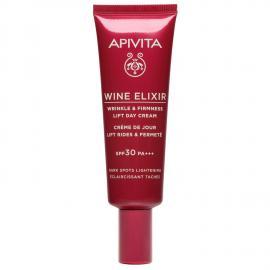 APIVITA Wine Elixir Crema Giorno Anti-Rughe Rassodante Liftante SPF30 – Schiarente Macchie